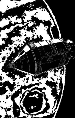 Soleil noir, vaisseau planete mars