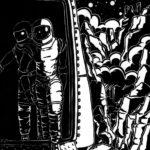 Soleil noir, descente du vaisseau