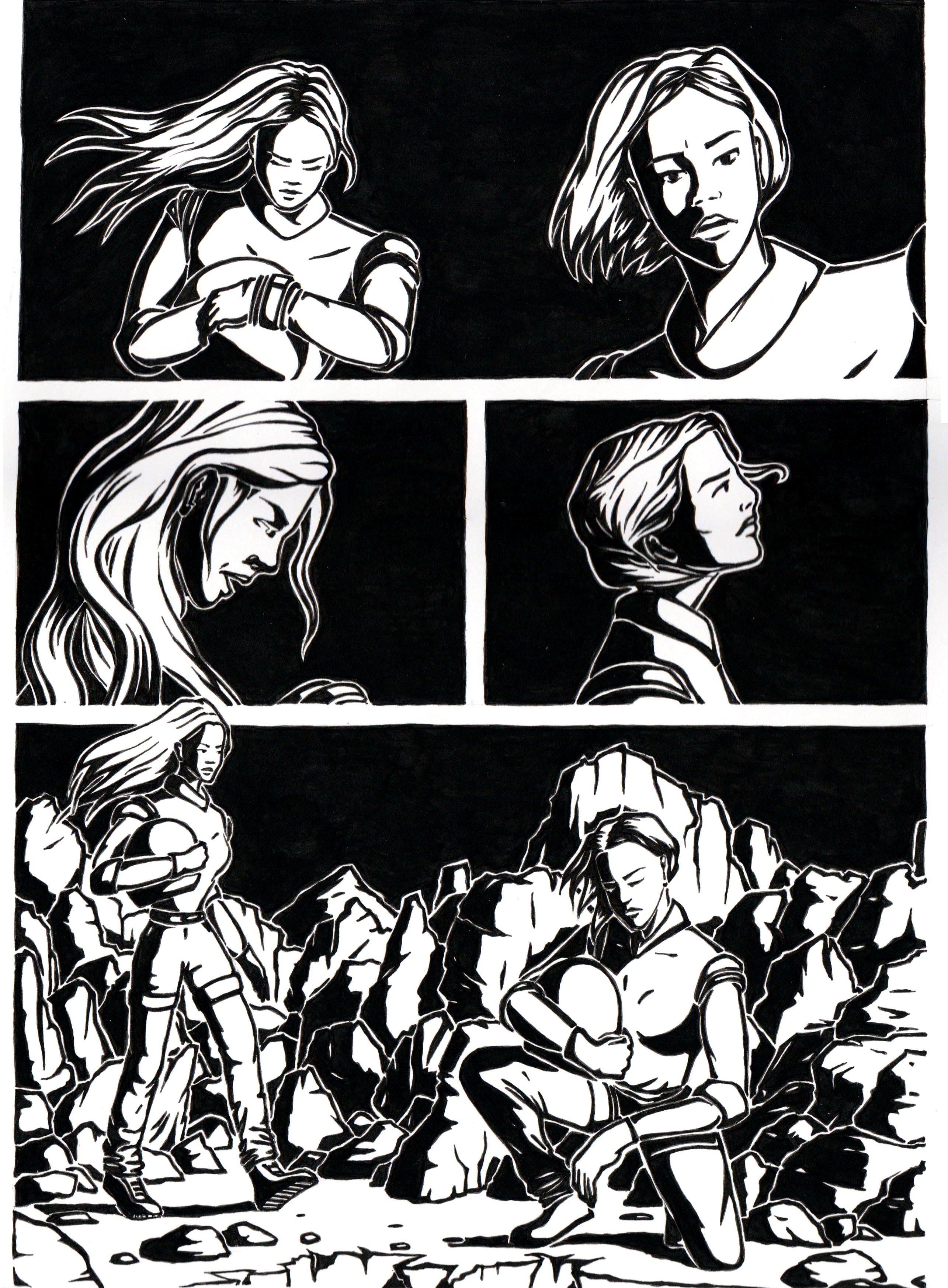 Soleil noir, deux femmes parlent