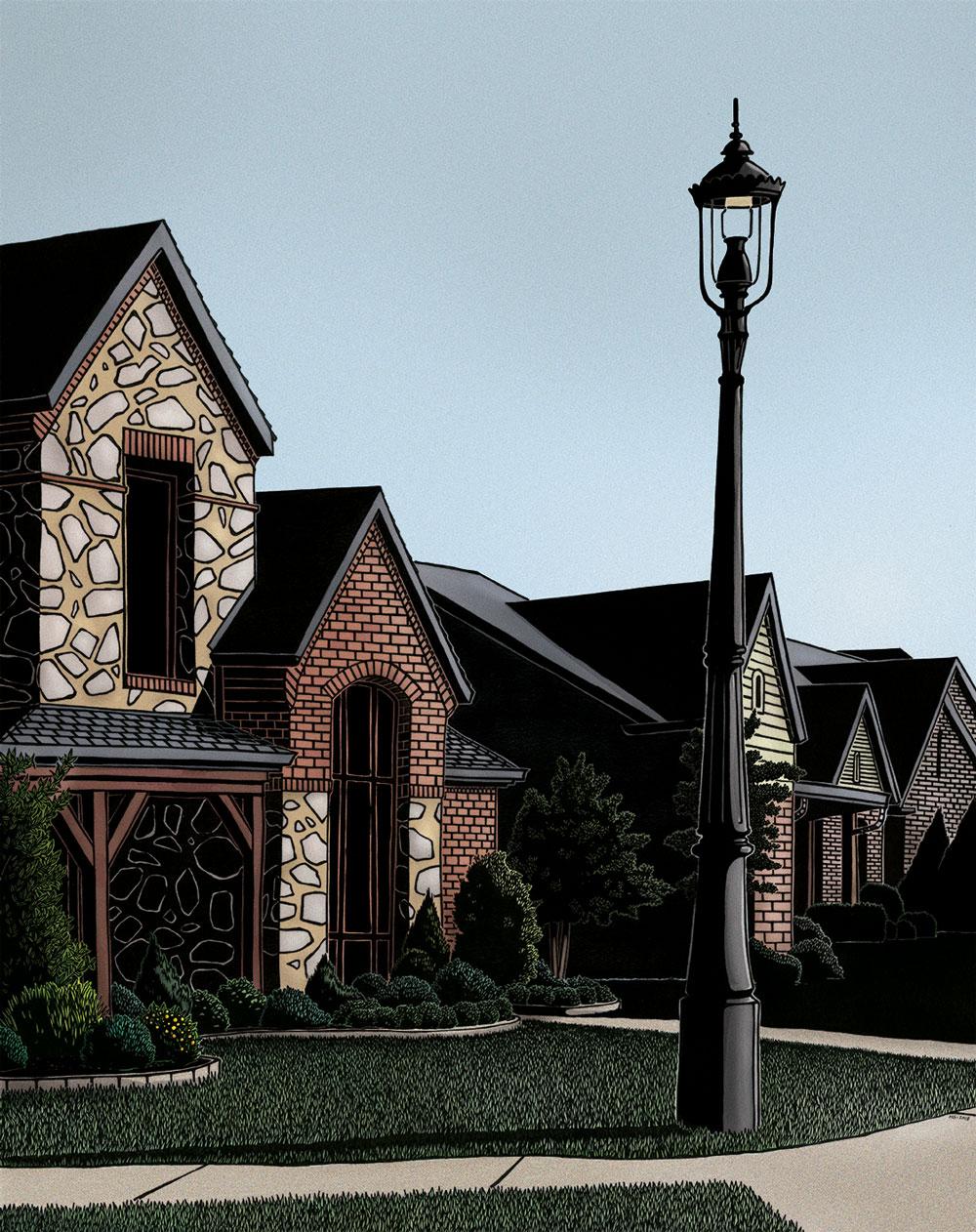 Single family house #colors2