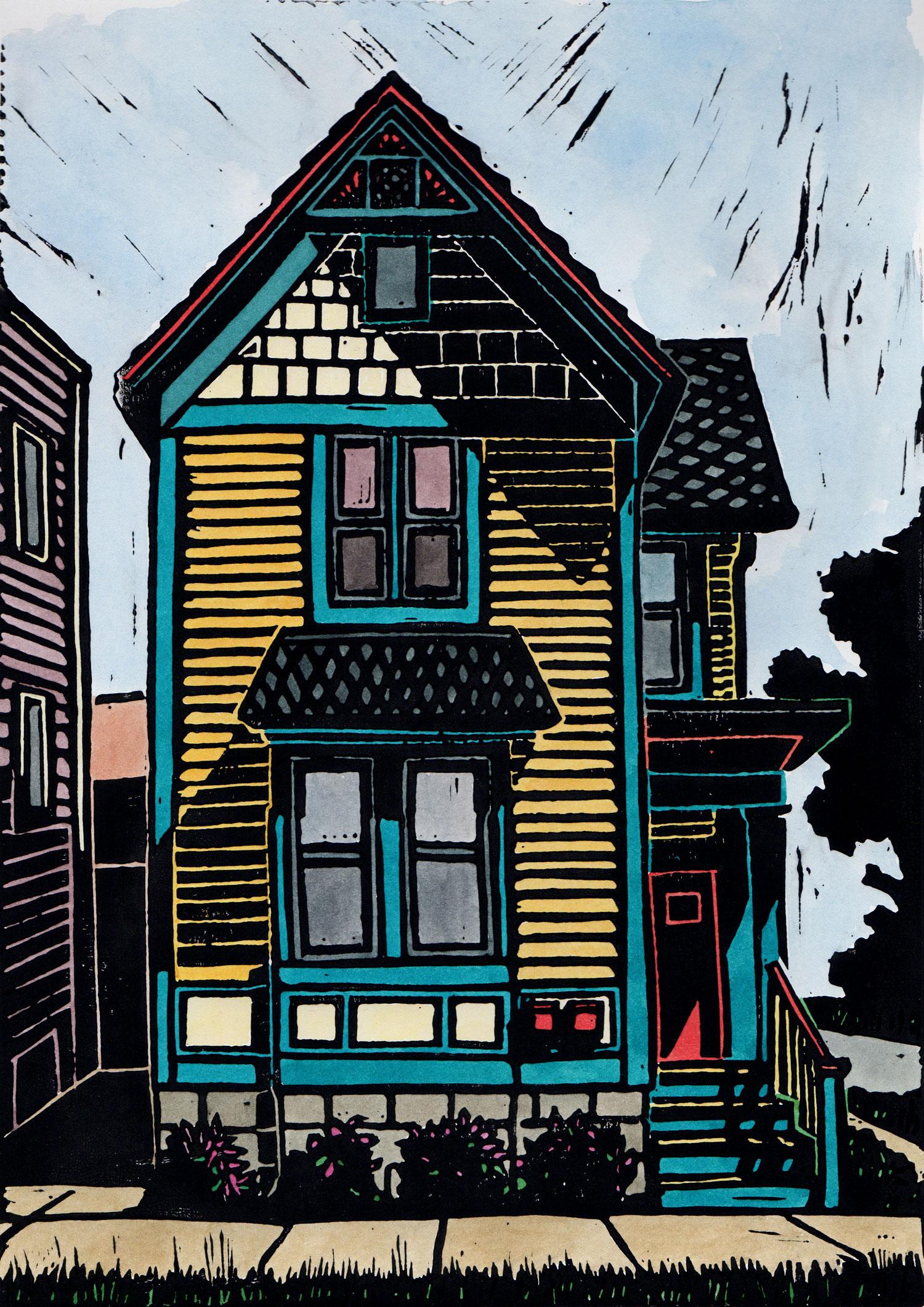 American houses: Detroit