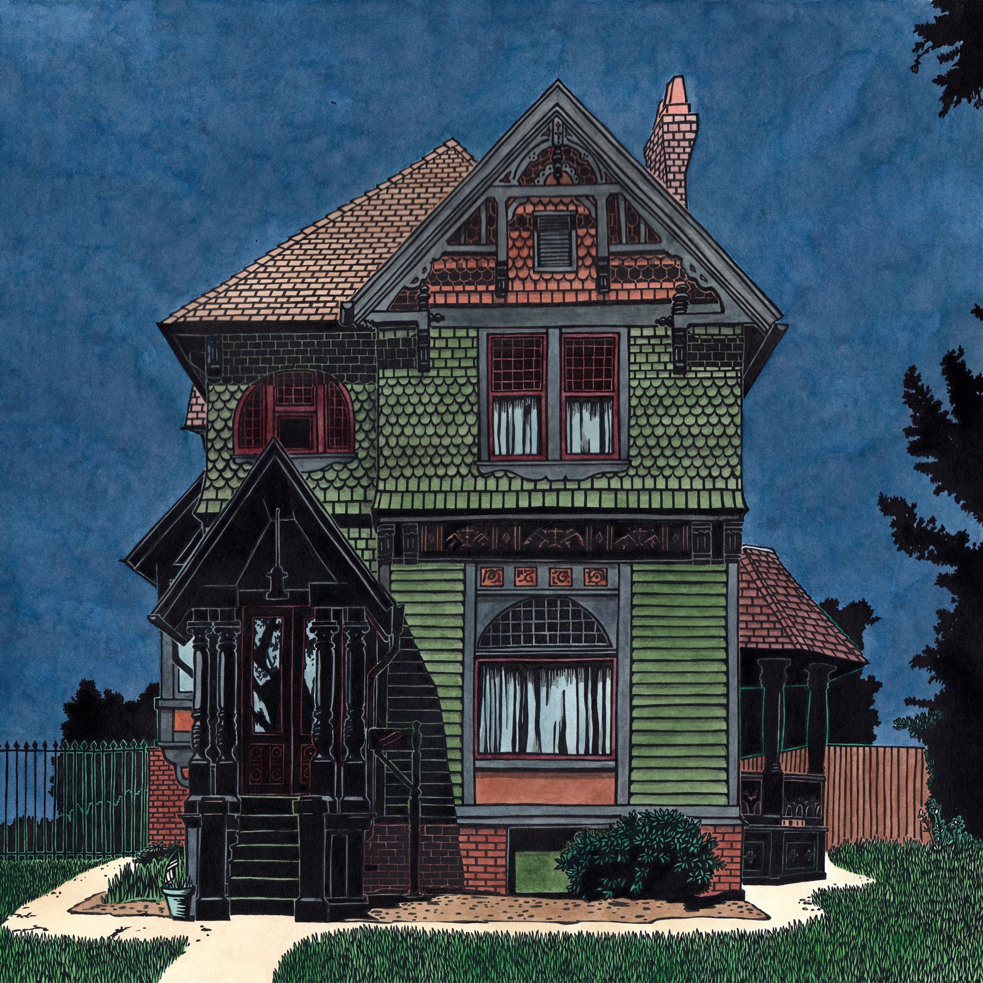American houses: John Scott House