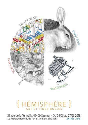 Affiche Galerie Hémisphères